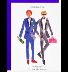 Mr. Boddington's Studio Mr. and Mr. Dashing Card
