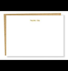 Sapling Press Thank You Flat Card