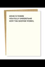Sapling Press Shower Card