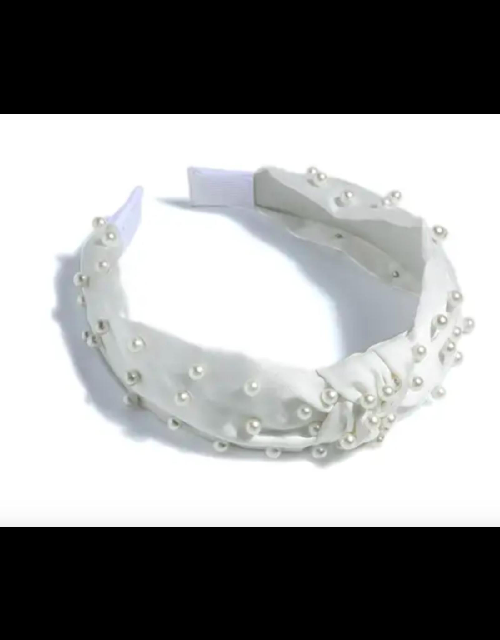 Pearl Headband in Ivory