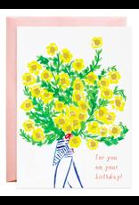 Mr. Boddington's Studio Biggest Bouquet Card