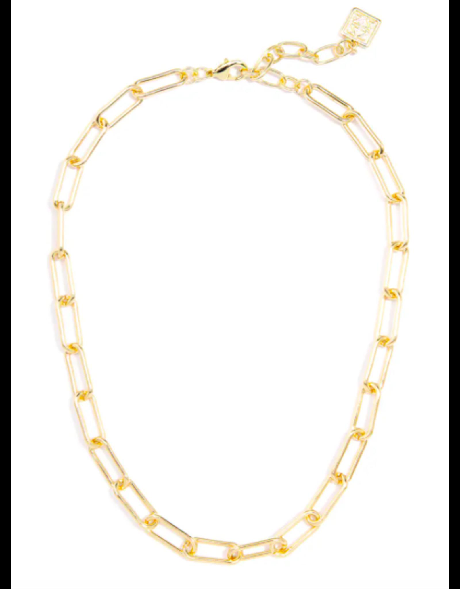 Zenzii Gold Link Necklace
