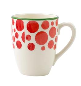 Vietri Mistletoe Bubble Mug