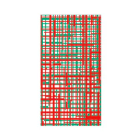 Vietri Plaid Red & Green Guest Towels