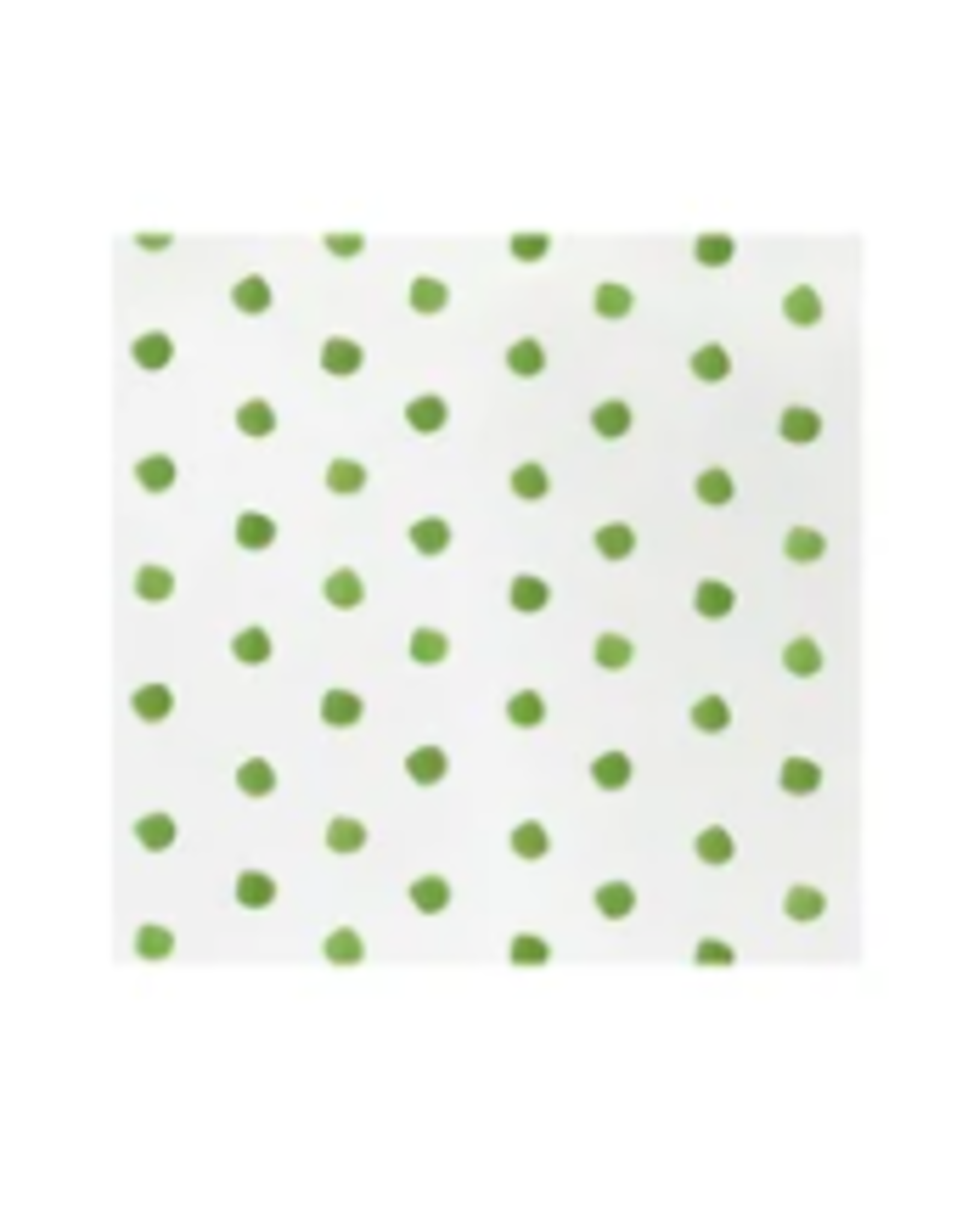 Vietri Green Dot Cocktail Napkins