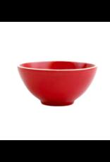 Vietri Chroma Condiment Bowl in Red