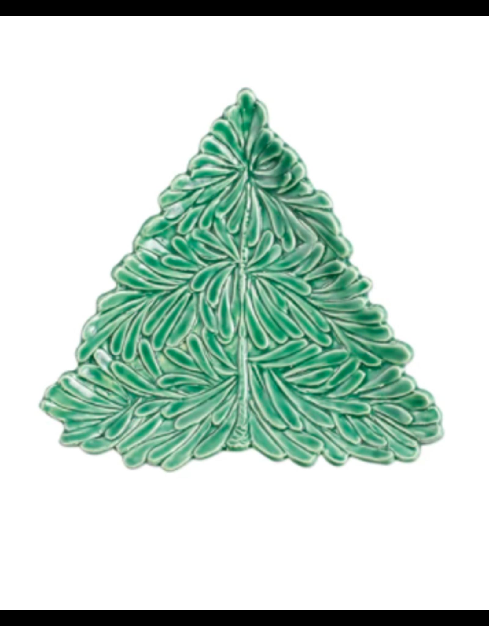 Vietri Lastra Holiday Tree Small Plate