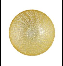 Vietri Rufalo Gold Crocodile Small Bowl