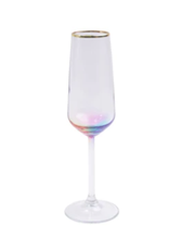 Vietri Rainbow Champagne Flute