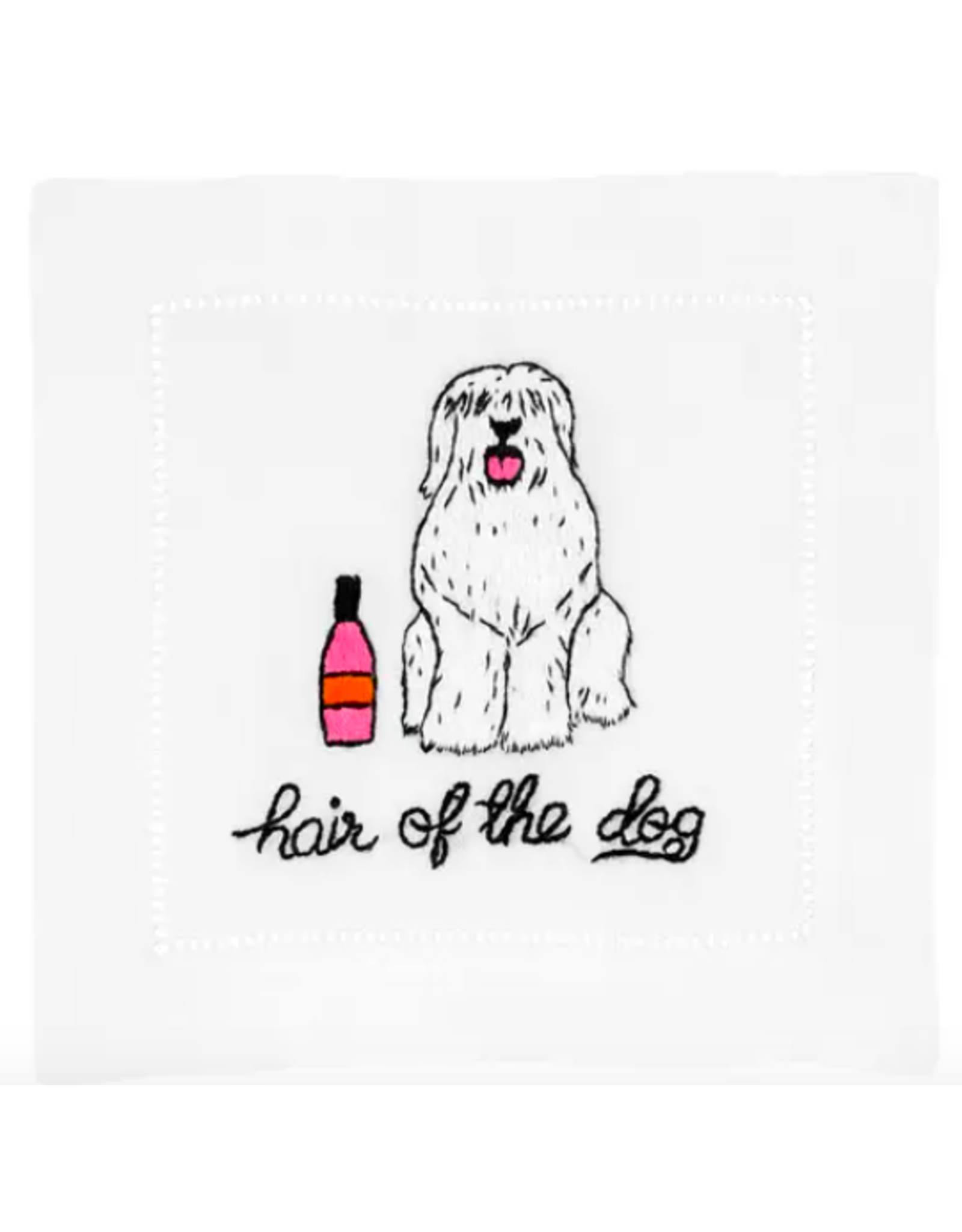 August Morgan Hair of the Dog Cocktail Napkin