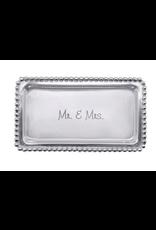Mariposa Mr. & Mrs. Beaded Tray