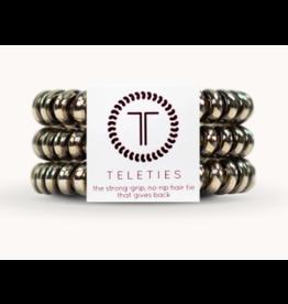 Teleties Small 3-Pack Moondust Gunmetal Teleties