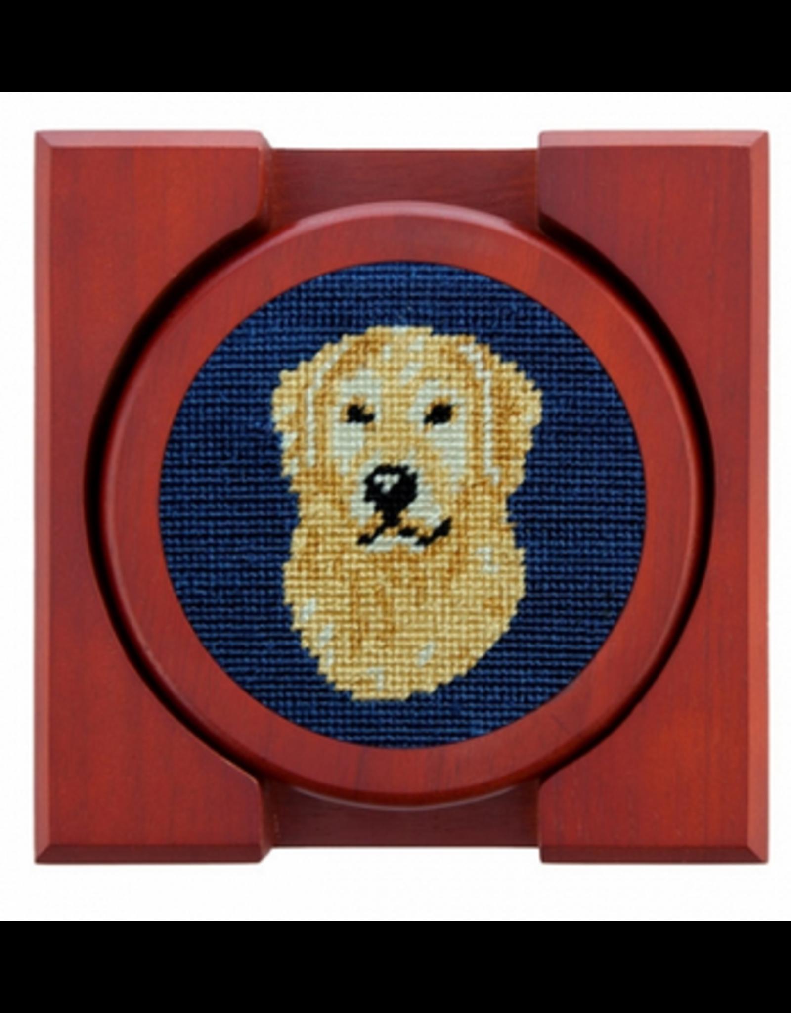 Smathers & Branson Golden Retriever Head Coasters