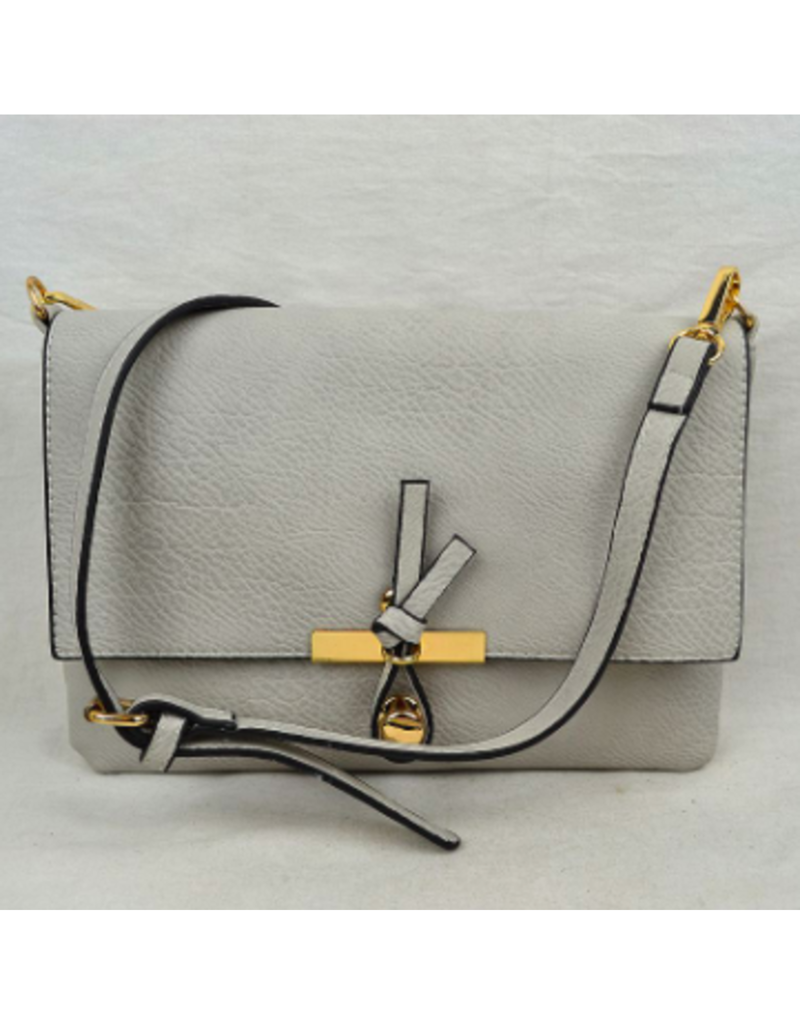 Accessories Shop by Place & Gather The Everyday Crossbody Small in Light Grey