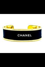 Fornash Chanel Cuff in Black
