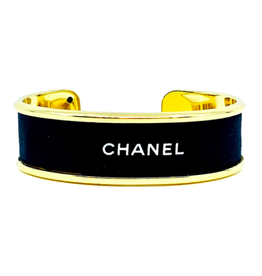 Fornash Chanel Cuff in Black