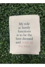Family Functions Tea Towel