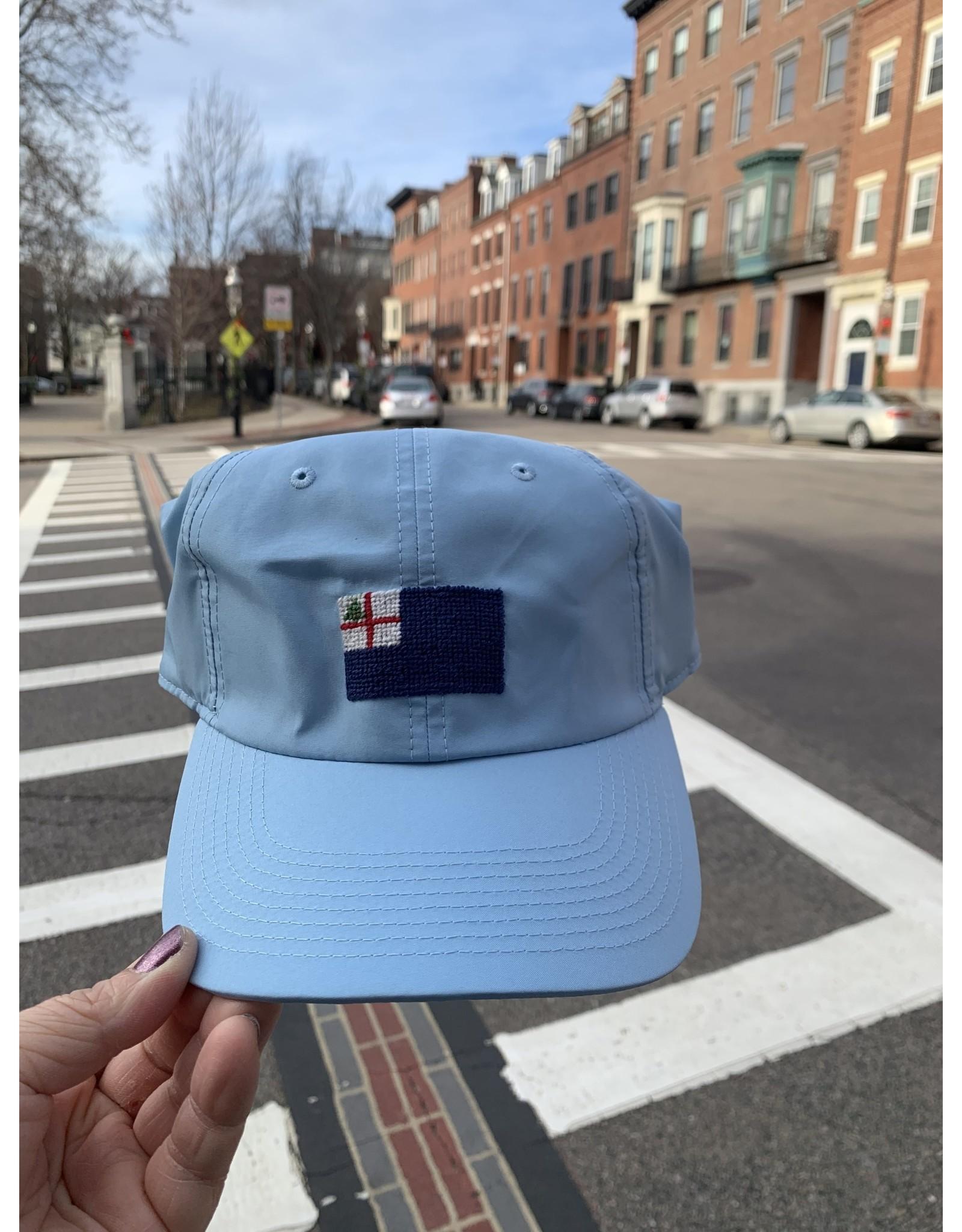 Smathers & Branson Sky Blue Bunker Hill Performance Flag Hat