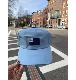 Smathers & Branson Sky Blue Bunker Hill Performance Flag Hat