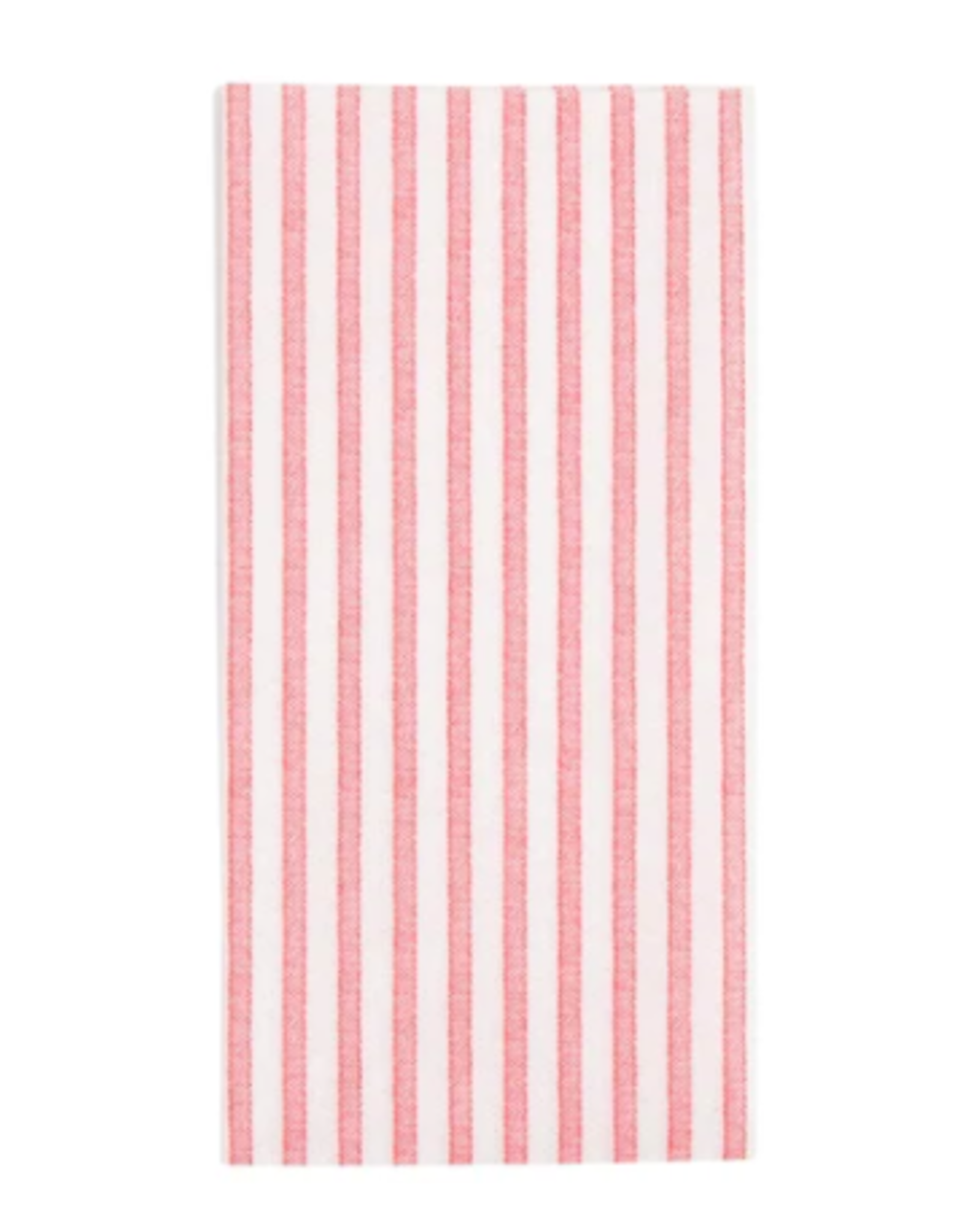 Vietri Red and White Striped Guest Towels
