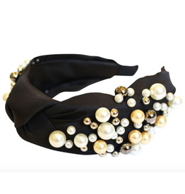 Gemelli Jewelry Valerie Headband in Black