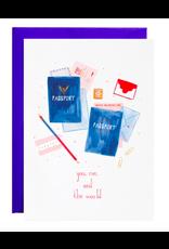 Mr. Boddington's Studio Rio or Paris Valentine's Card
