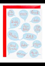 Mr. Boddington's Studio Head Honcho Card