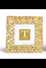 Braided Gold Frame 3x3
