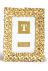 Braided Gold Frame 4x6