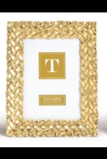 Braided Gold Frame 5x7