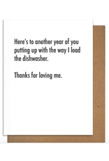 Pretty Alright Goods Dishwasher Greeting Card