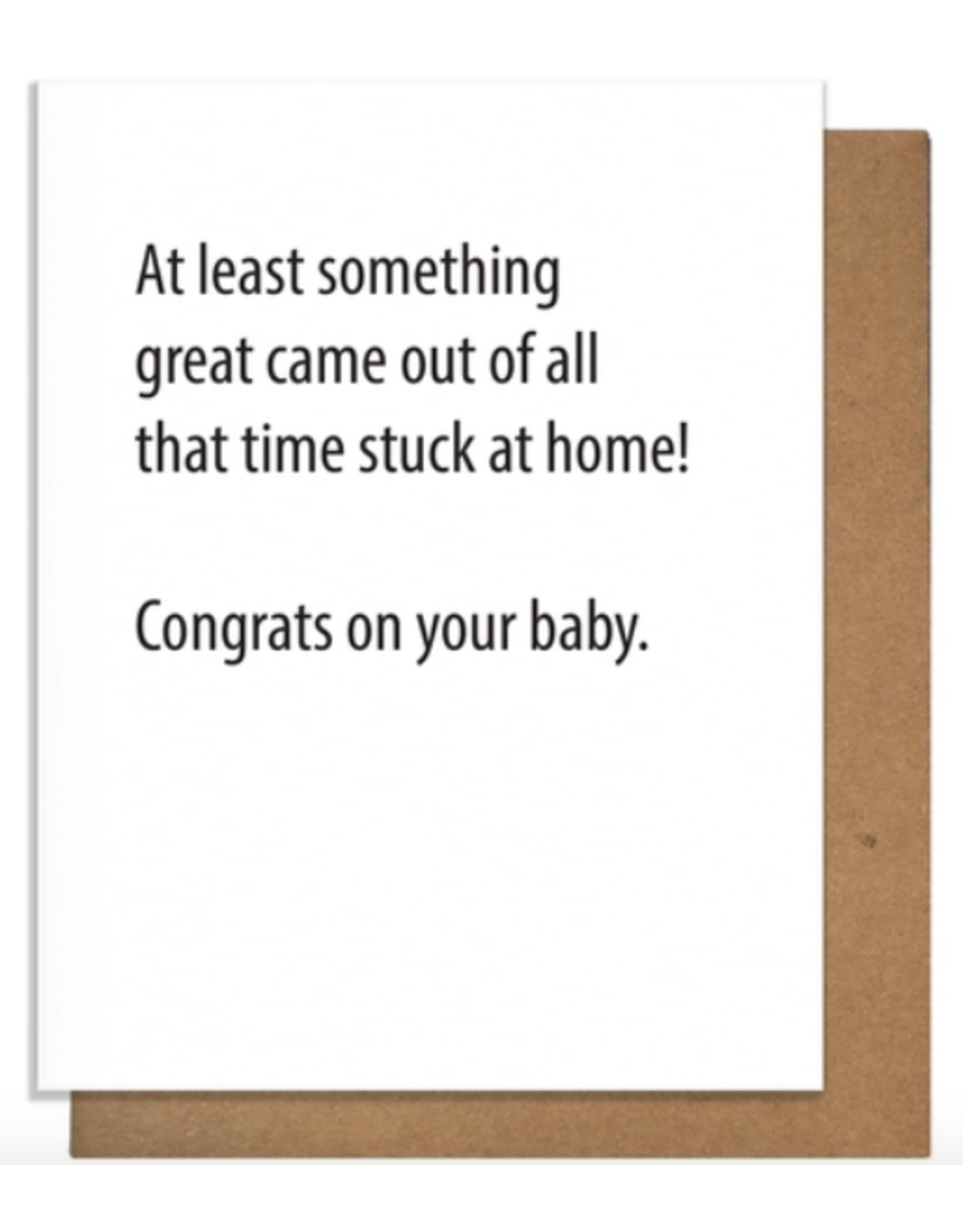 Pretty Alright Goods Home Baby Greeting Card
