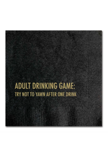 Pretty Alright Goods Adult Drinking Game Cocktail Napkin