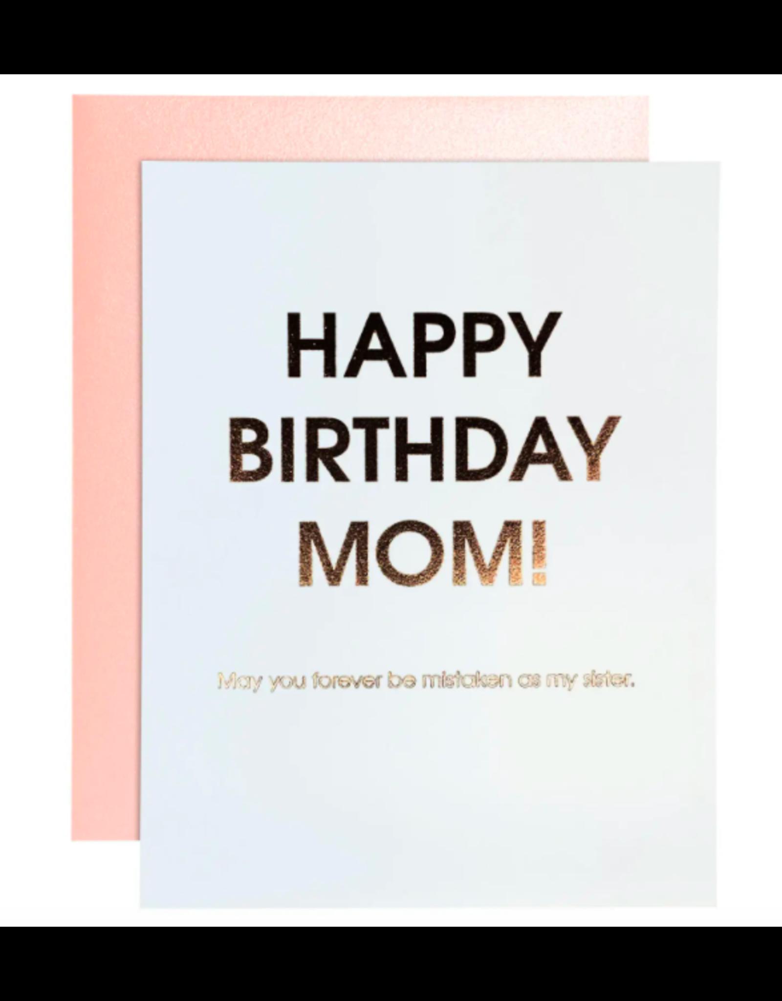 Chez  Gagne Birthday Mom Card