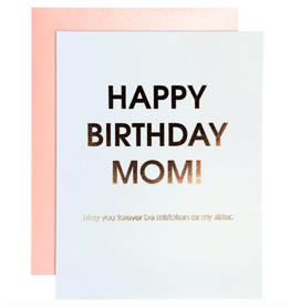 Chez  Gagne Birthday Mom Card