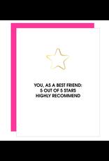 Chez  Gagne You As a Friend Card