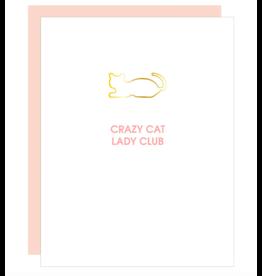 Chez  Gagne Crazy Cat Lady Card