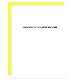 Chez  Gagne Just One Cluster Card