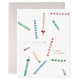 E. Frances Not Counting Candles Card