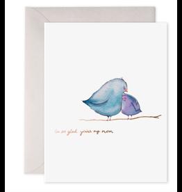 E. Frances So Glad You're My Mom Card