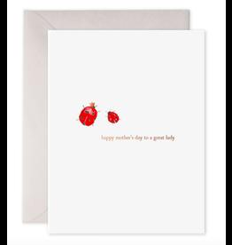 E. Frances A Great Lady Card