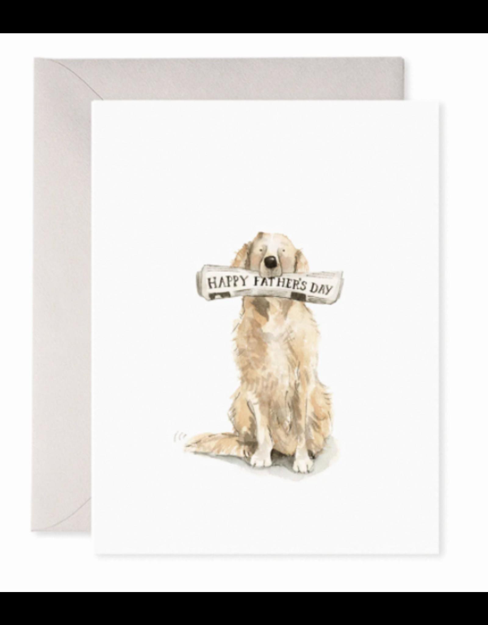 E. Frances Doggy Dad Card