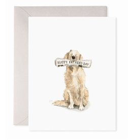 E. Frances Doggy Dad Card