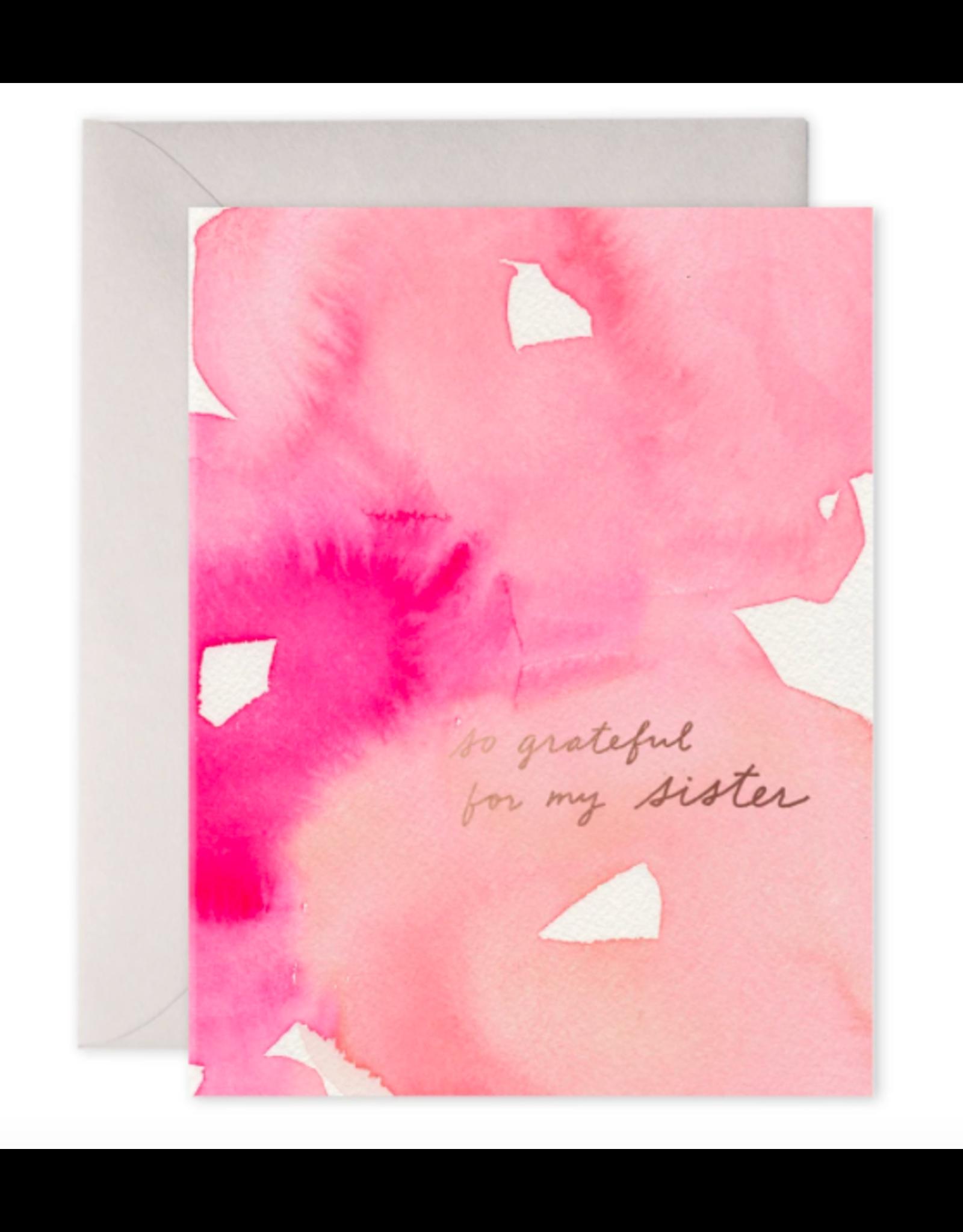 E. Frances Sister Gratitude Card