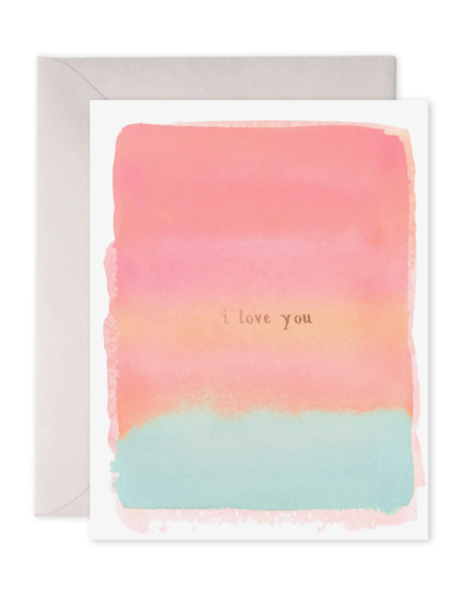 E. Frances I Love You Card