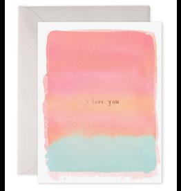 E. Frances I Love You Card