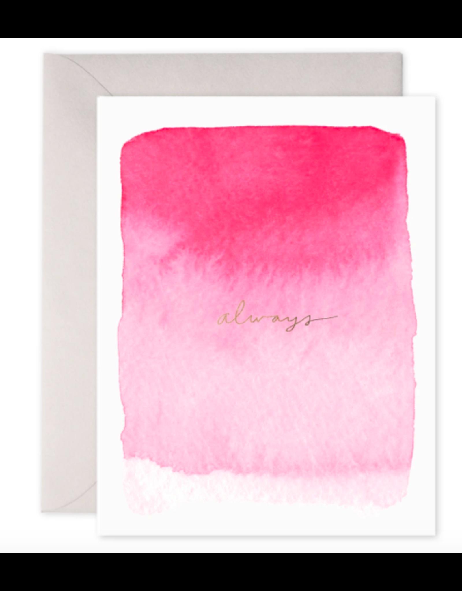 E. Frances Always Card
