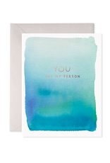 E. Frances You Are My Person Card