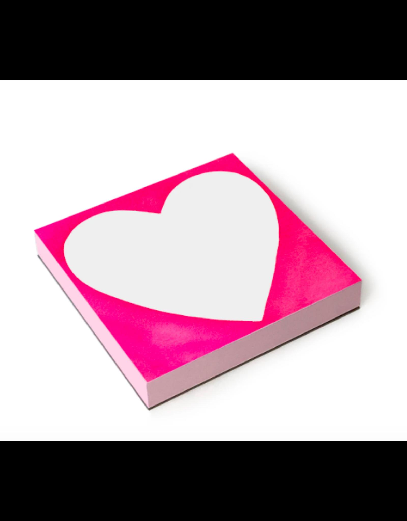 E. Frances Chubby Heart Notepad