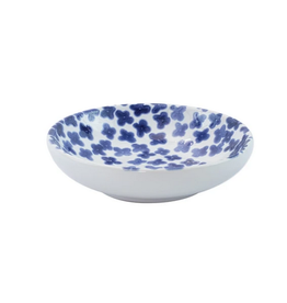 Vietri Santorini Flower Condiment Bowl